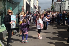 19th August 2016: Zumba Flash Mob, The Mall, Tralee