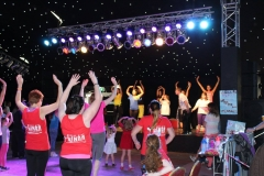 19th August 2017: Zumbathon, Rose of Tralee Festival Dome, Tralee